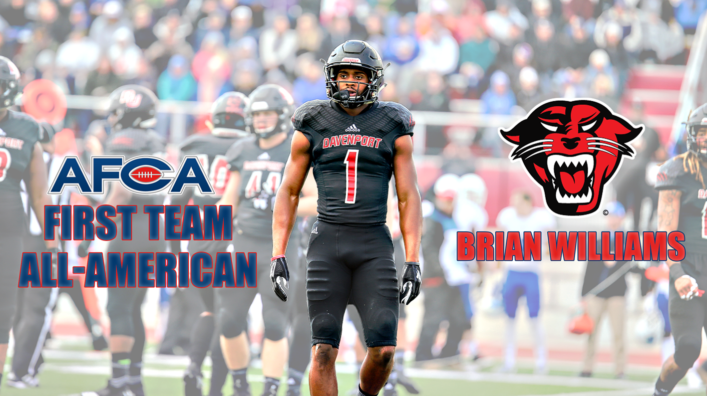 Brian Williams Named First Team All American By American Football Coaches Ociation